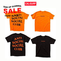 SALE★ANTISOCIAL SOCIALCLUB x Undefeated TEE/ORAGorBLK/S-XL