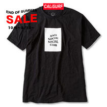 SALE★ S-XLサイズ ANTISOCIAL CLUB Logo Tee /BLACK