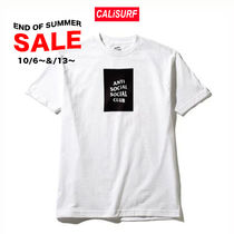 SALE★S-XLサイズ ANTISOCIAL CLUB Logo Tee /WHITE