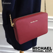 【セール!】MICHAEL KORS JET SET LARGE CROSSBODY クロスボディ