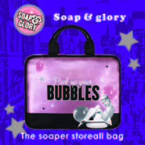 Soap&Glory☆The soaper store all bag 2017秋冬限定☆セクシー