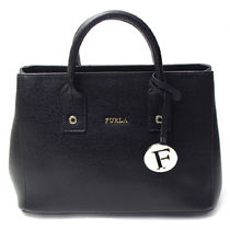 フルラ LINDA MINI TOTE 2WAYバッグ BHR7 835112 ONYX(fr211538)
