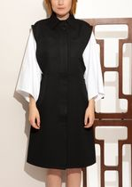 ☆国内発☆CELINE/Black bi-material dress