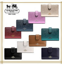 COACH★MEDIUM CORNER ZIP WALLET F54010  国内発送! 関税込み!