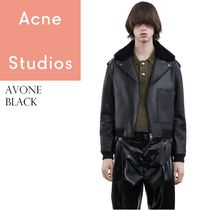 ACNE Avone lamb leather Jacket ラムレザージャケット