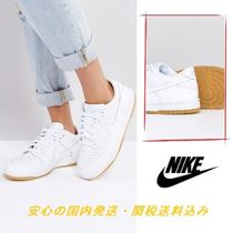 Nike Dunk Low Essential Trainers In White♪