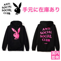 【国内即発】Anti Social Social Club× Play Boyコラボフーディ