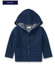 新作♪国内発送 REVERSIBLE HOODED JACKET boys 0~24M
