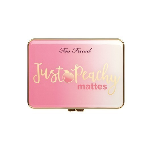 Too Faced☆Just Peachy Velvet Matte アイシャドウ 12色セット