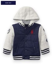 新作♪国内発送 HOODED HYBRID JACKET boys 0~24M