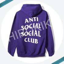 XLサイズ★Anti Social Social Club PURPLE RAIN HOODY ASSC 紫