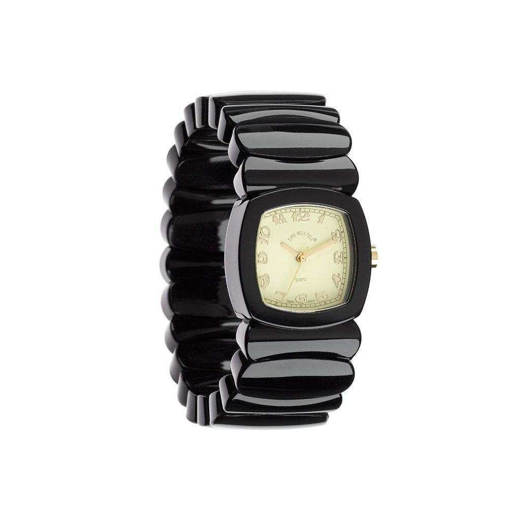 【Time Will Tell】アナログ 腕時計 CLASSIC WATCHES  BLACK