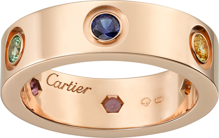 国内発関税込 2018AW Cartier Love ring Pink gold