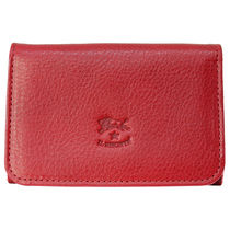 IL BISONTE イルビゾンテ カードケース C0470 245 Rosso