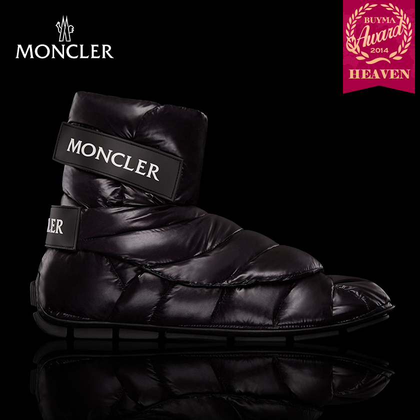 TOPセラー賞受賞!17/18秋冬┃MONCLER★ANKLE BOOTS_ブラック