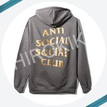 Anti Social Social Club METAL GEAR SOLID HOODY ASSC 灰/Gold