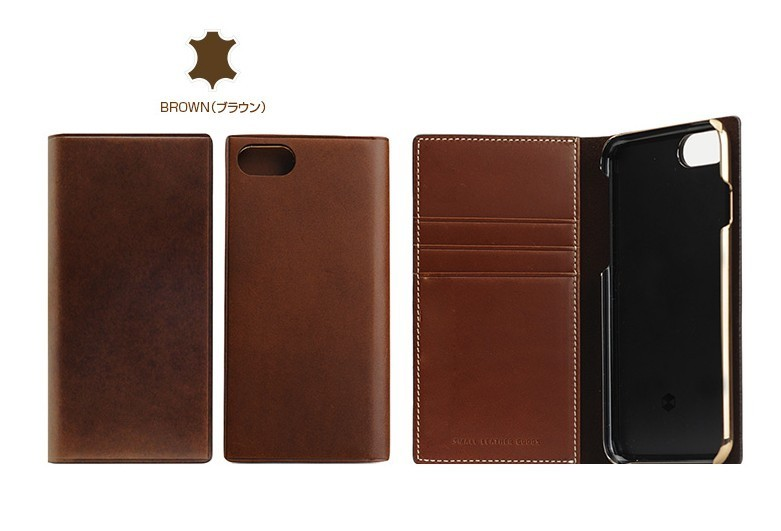 iPhone 8/7ケース 手帳型 SLG Design Buttero Leather Case 本革
