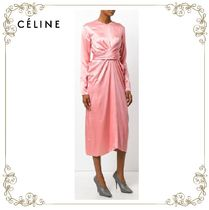 【17AW】大人気★CELINE★draped dress