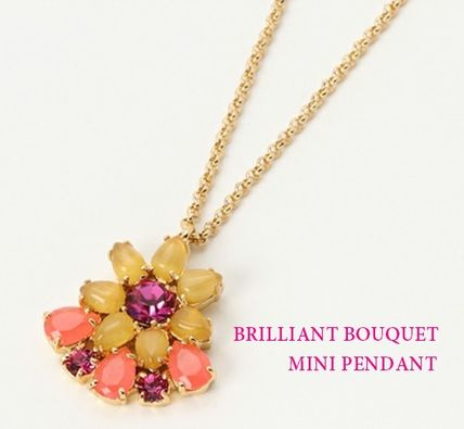 【即発!】kate spade☆ペンダント☆BRILLIANT BOUQUET PENDANT