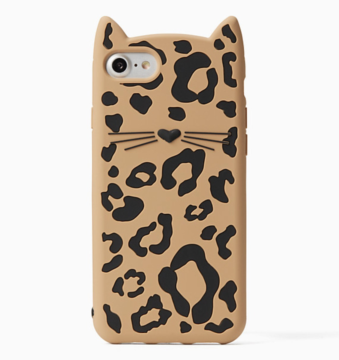 cheetah cat iphone 7/8 case