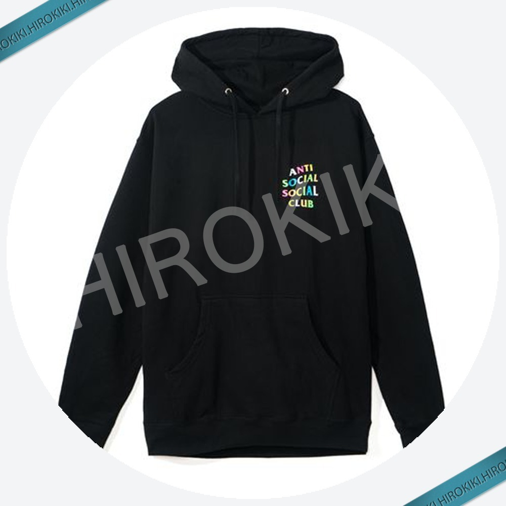 Anti Social Social Club Feature Rainbow Graphics Hoodies 虹