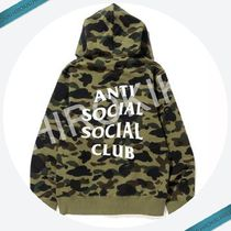 Sサイズ★A BATHING APE ASSC 1ST CAMO PULLOVER HOODIE エイプ