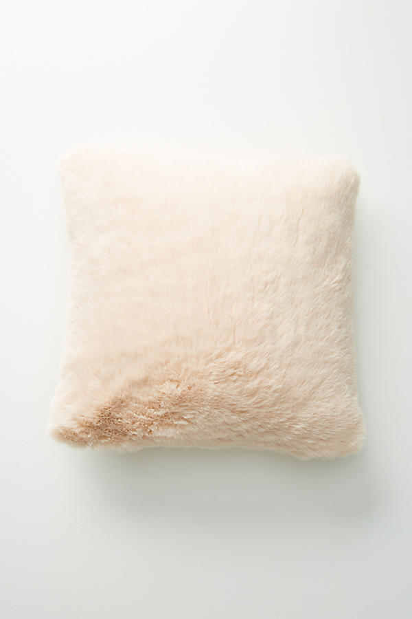 18AW☆最安値保証*関送料込【Anthro】Fireside Faux Fur Pillow