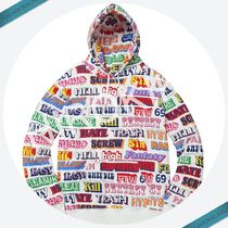 【17AW】Supreme HYSTERIC GLAMOUR Text Hooded Sweatshirt 白