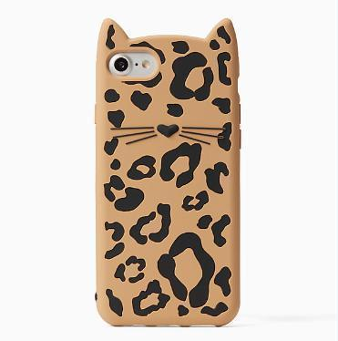 kate spade new york チーター猫iphone7&8ケース(関税・送料込)