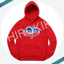 【17AW】Supreme HYSTERIC GLAMOUR Hooded Sweatshirt Red 赤