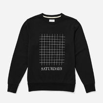 【即納】Saturdays Surf Bowery Saturdays Grid Sweatshirt 長袖