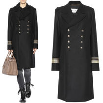 17-18AW WSL1123 DOUBLE BREASTED WOOL MILITARY COAT