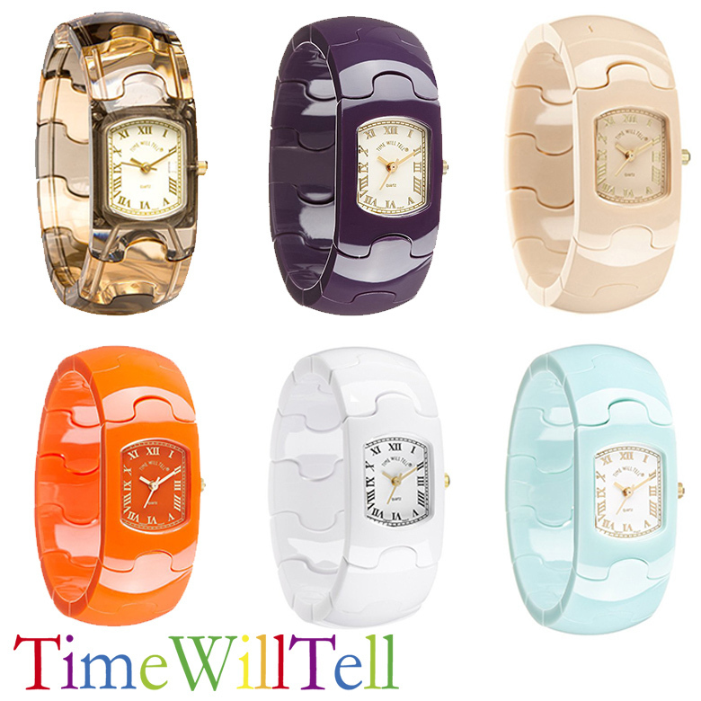 【Time Will Tell】アナログ 腕時計 PUZZLE WATCHES  全6色