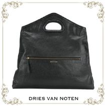 【17AW】大人気★Dries Van Noten★cut-out handle tote