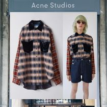 【17AW NEW】 Acne Studios_men /Petter/チェック柄シャツDBL