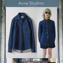 【17AW NEW】 Acne Studios_men /Road/デニムシャツDBL
