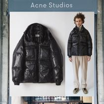 【17AW NEW】 Acne Studios_men /Minus gloss /ダウンコートBK