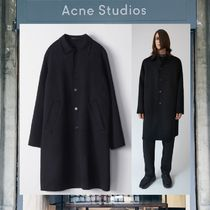 【17AW NEW】 Acne Studios_men /Marilia/レインコートBK