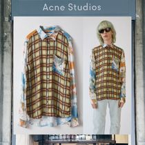【17AW NEW】 Acne Studios_men /Road super8 /チェック柄シャツ