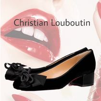 【Christian Louboutin】Dolly Dola ベルベット ヒール 3.5cm