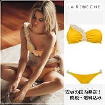 国内発送!【LA REVECHE】DASHA ONE SHOULDER・yellow/関税送料込
