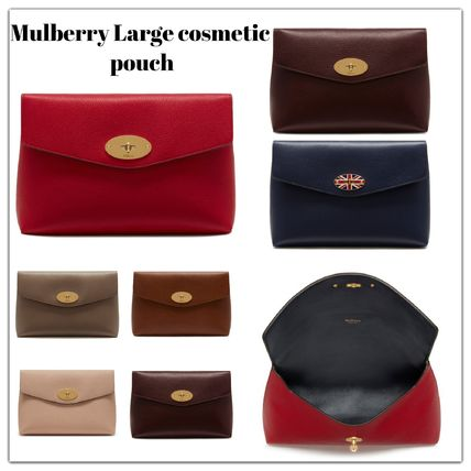 Mulberry メイクポーチ Mulberry Large Darley コスメティックポーチ7色