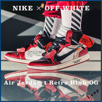 【Nike×OFF-WHITE】入手困難☆ Air Jordan 1 Retro high OG