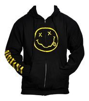 "NIRVANA""SMILE""ZIP HOODIE(S)Official"