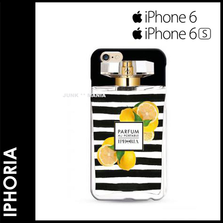 ★3-7日着/追跡付【即発送・IPHORIA】iPhone6S/Lemon Stripes