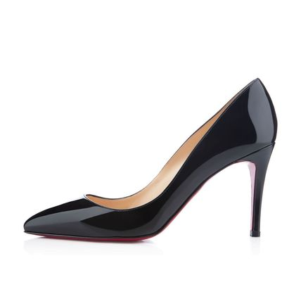 Christian Louboutin パンプス 国内発 CHRISTIAN LOUBOUTIN Pigalle 85 パテント ブラック (2)