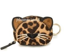 NEW!kate spade new york-run wild leopard dumpling coin purse