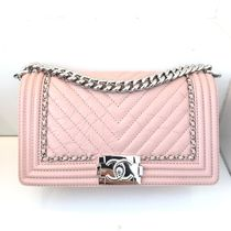 LOVE THIS PINK★2017 F/W CHANEL★BOY SHOULDER★ in Pink
