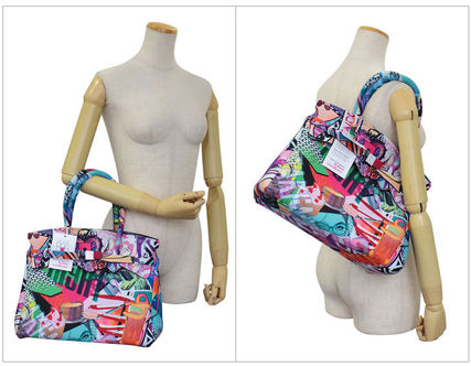 SAVE MY BAG トートバッグ SAVE MY BAG トートバッグ Mサイズ 10204N MISS PRINTED LYCRA(4)