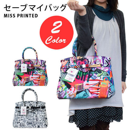 SAVE MY BAG トートバッグ SAVE MY BAG トートバッグ Mサイズ 10204N MISS PRINTED LYCRA